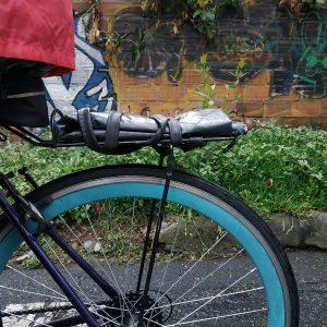 lluvia bicicleta